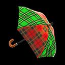 Animal Crossing New Horizons Tartan-check Umbrella Image