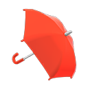 Animal Crossing New Horizons Red Umbrella Image