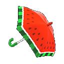 Animal Crossing New Horizons Watermelon Umbrella Image
