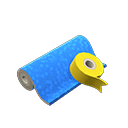 Animal Crossing New Horizons Blue Wrapping Paper Image