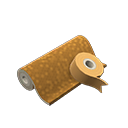 Animal Crossing New Horizons Brown Wrapping Paper Image