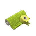 Animal Crossing New Horizons Chartreuse Wrapping Paper Image