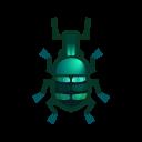 blue weevil beetle