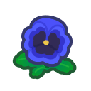 Image of Blue pansies