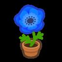 Animal Crossing New Horizons Blue-windflower Plant Image