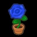 Animal Crossing New Horizons Blue-rose Plant Image