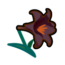 Image of Black lilies