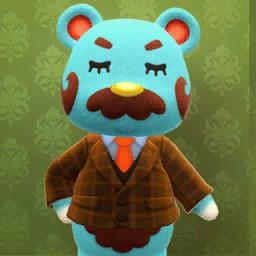 Animal Crossing New Horizons Beardo Image