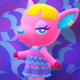 Animal Crossing New Horizons Fuchsia Image