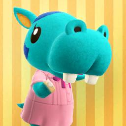 Animal Crossing New Horizons Bertha Image