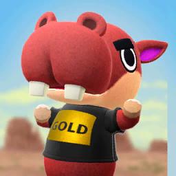 Animal Crossing New Horizons Biff Image