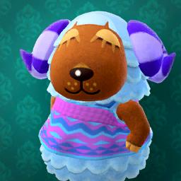 Animal Crossing New Horizons Baabara Image